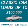 Capital One Classic car loans up to 100 grand